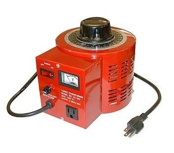 EX ELECTRONIX EXPRESS Variable Transformer, 500 VAC Max, 0-130 Volt Output, 5 Amp by Electronix Express
