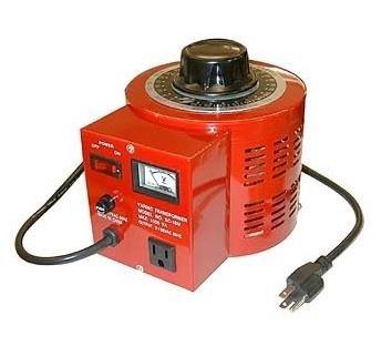 (EX ELECTRONIX EXPRESS Variable Transformer, 500 VAC Max, 0-130 Volt Output, 5 Amp)