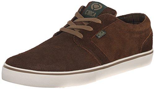 (C1RCA Men's Hesh Skate Shoe, Dark Brown/Ermine, 11.5 M US)