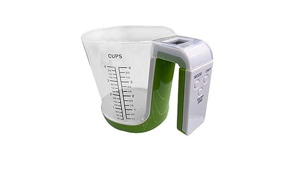 YA-Uzeun - Vaso medidor digital multifuncional para cocina y ...