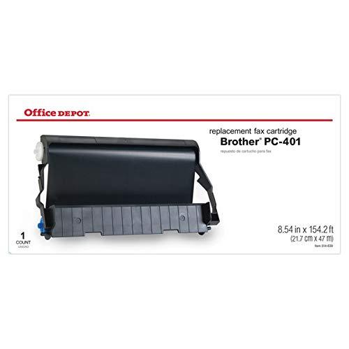 Office Depot Brand 401B (Brother PC-401) Fax Film Cartridge