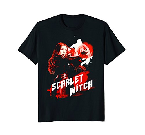Marvel Infinity War Scarlet Witch Red Splat Graphic ()