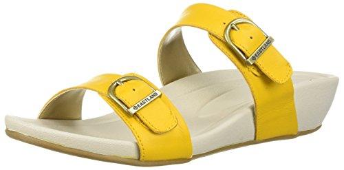 Sandalo Giallo Sandalo Scorrevole Delle Donne Di Eastland
