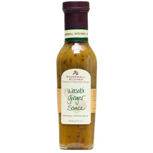 Stonewall Kitchen All Natural Wasabi Ginger Sauce - 11 oz