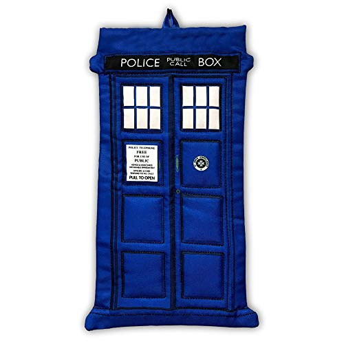 (Doctor Who TV Series Blue Tardis Christmas Stocking Decoration - 18)