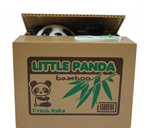 Wedding Old Style Wrappers (Novelty - Speaking,Stealing Coin Panda Piggy Bank / Money Can / Coin Bank Box Creative Cute Gift (Panda))