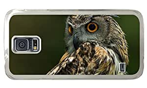 Hipster Samsung Galaxy S5 Case brand new covers owl hd PC Transparent for Samsung S5
