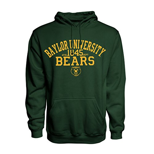 Top of the World Baylor Bears Official NCAA Medium Forest Green Lightweight Pullover Sweatshirt Hoodie