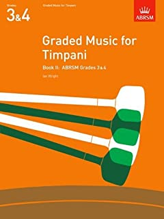 Ian Book II Pieces /& Studies Graded Music for Timpani Paperback; Wright