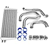 CXRacing Tube & Fin FMIC Intercooler Piping Kit For 89-99 Nissan 240SX S13 S14