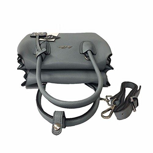 LA CARRIE BAG donna polvere ecopelle mod 171-V-671 BASIC SHOPPING BOTTOLATO