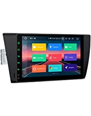 XTRONS Android 10.0 Car Stereo Radio Player GPS Navigation 9 Inch Touch Screen Head Unit Supports Android Auto Plug and Play WiFi Bluetooth Backup Camera DVR OBD2 TPMS for BMW E90 E91 E92 E93 325 328