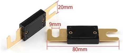 Mintice 5 X 100a Anl Sicherung Auto Automotive Audio Power Sicherheit Schützen Glasrohr Vergoldet Schutz Auto