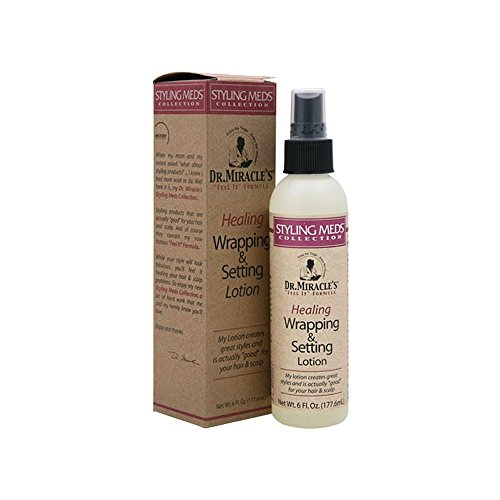 Dr. Miracles Healing Wrapping & Setting Lotion - Net Wt. 6 Fl. Oz