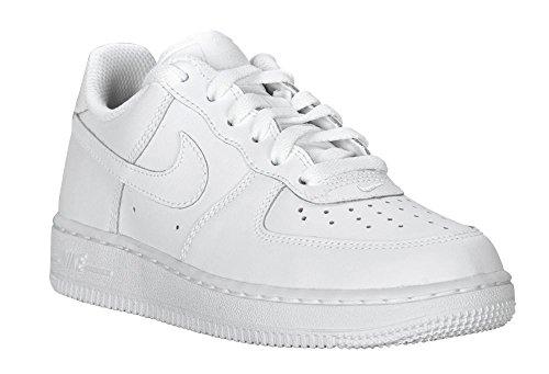 Niños Zapatillas Force Nike PS 1 de Blanco Baloncesto qYPF1