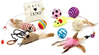 Friends Forever Cat Toys Variety Pack, 20 pieces