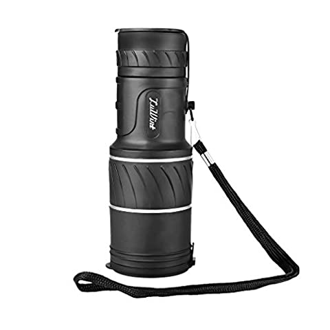 Luwint 10x 40 Compact Monocular Telescope - High Powered Dual Focus 10X Closer for Hunting Bird Watching with Lens Dust Covers, (Echo Zoom Scope)