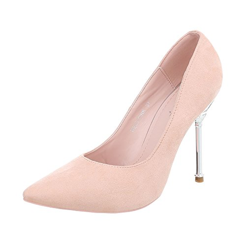 compensées femme Design Ital Pink chaussures NE03 EqOHB