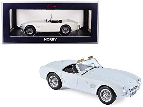 Norev 1963 Shelby AC Cobra 289 Roadster White 1/18 Diecast Model Car