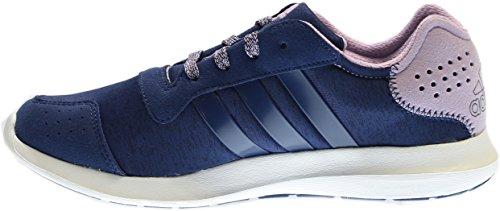 Adidas Performance Womens Element Refresh W Scarpa Da Corsa Blu / Viola / Bianco