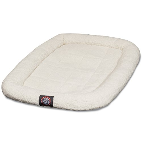 42 inch Sherpa Crate Pet Bed Mat By Majestic Pet ()
