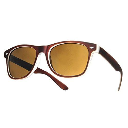 hombre lectura carey Unisex Estilo nbsp;fuerza 4sold marca Rubi gafas sol de 4sold nbsp;marrón 1 de lectores UV400 de 5 Reader para gafas UV Mujer Brown sol HWqOX