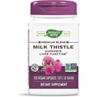Nature's Way Standardized Milk Thistle; 80% Silymarin per serving; TRU-ID Certified...