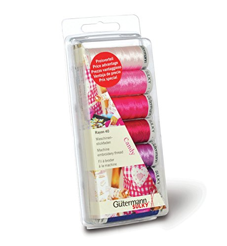 Gutermann Thread Set Machine Embroidery Rayon 40 - Candy by Gutermann