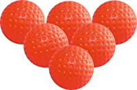 Longridge Trainings-Golfbälle Gelee, 6 Stück, orange