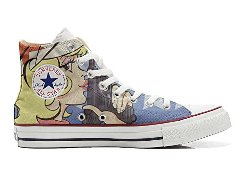 Schuhe Custom Converse All Star, personalisierte Schuhe (Handwerk Produkt customized) Hurricane