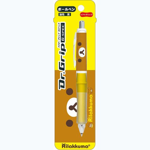 San-x E. Rilakkuma (Yellow) Dr. Grip G-Spec Pen