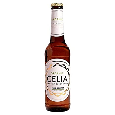 Celia 330ml Orgánica Sin Gluten Cerveza Lager: Amazon.es ...