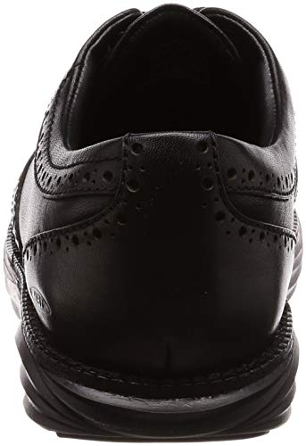 Black WT 03 MBT Negro de para Cordones Boston Mujer W Brogue Zapatos vwx5ZPw6