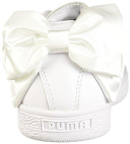Wn Puma Women Sneaker White Basket puma White Bow PUMA axPBtwqw