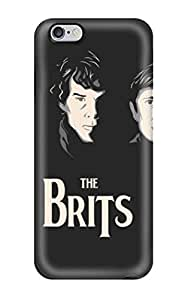 Durable Sherlock T Shirts Back Case/cover For Iphone 6 Plus