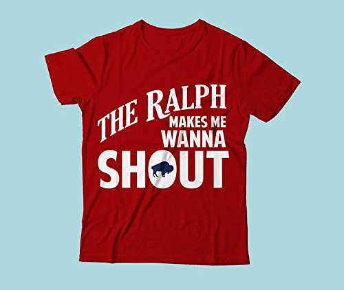 (The Ralph Makes Me Wanna Shout T-shirt - Tailgating T-shirt (XL))