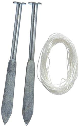 Silverline 456984 Belastbarer Schnurnagel, 2er-Pckg. 160 mm
