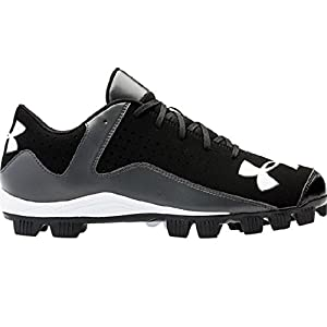 Under Armour Men's Leadoff Low RM Baseball Cleats Black/Charcoal Size 11 M US