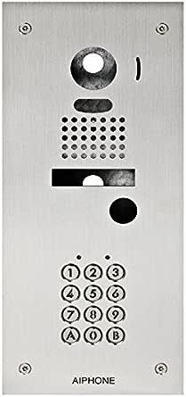 Aiphone DBS1AP – Facade – acero inoxidable 2 mm empotrada con ...
