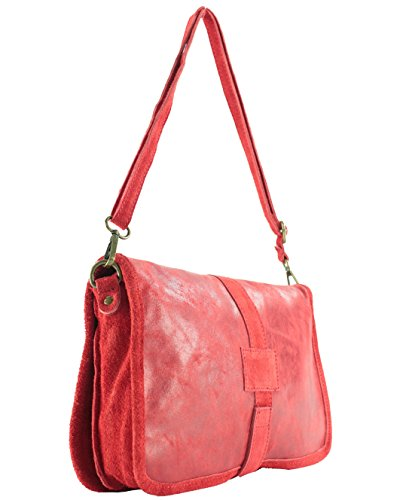 histoireDaccessoires Red Bag Leather Shoulder Leather histoireDaccessoires Gianluca SA011521 Women's Women's GI x4fHEO
