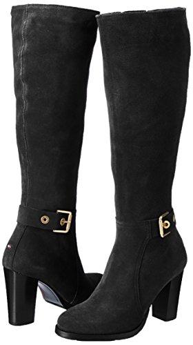 Hilfiger B1285arcelona Women''s Tommy Black Boots 6b F7d7wx