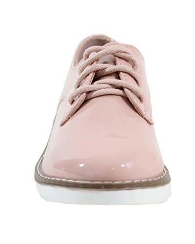 Enfant Pink Vernis Style By Shoes Pour Derbies w1Oq1YXg