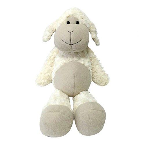 (Snuggle Stuffs Plush Sitting Cream Lovable Lamb Animal,)