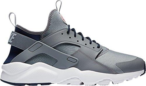 NIKE Herren Huarache Run Ultra Running Sneaker Cooles Grau / Wolfsgrau