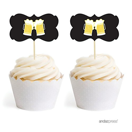 Andaz Press Birthday Cupcake Double Sided product image