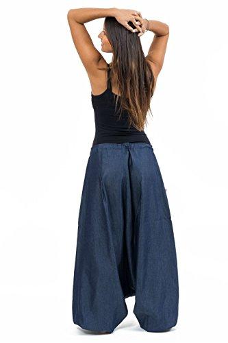 Mujer Fantazia Para Harem Azul Vaqueros rxxt7A