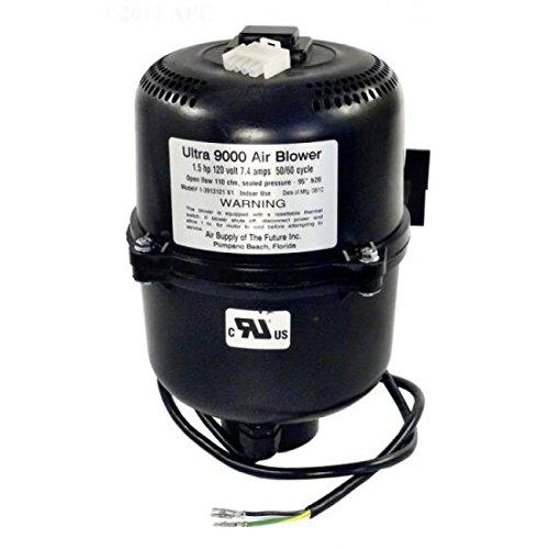 Air Supply 3913121 Ultra 9000 Blower 1.5 hp 7 Amp, 120V