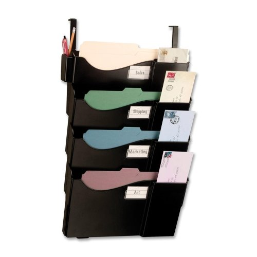 - Wholesale CASE of 5 - Officemate 4-Pocket Grande Central Filing System-Starter Filing System, w/4-Pckt/Hanger,16-5/8