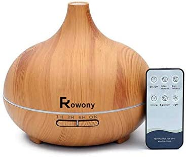 550ml Essential Oil Air Humidifier Remote Control
