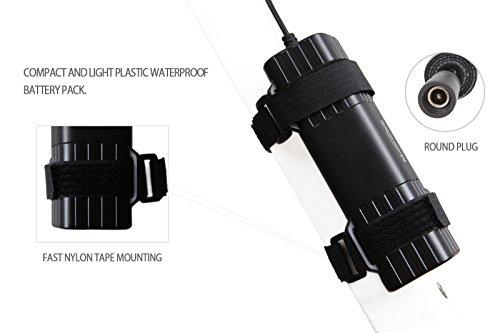 Magicshine Bike Light Battery, MJ-6102 high Capacity 6 Cell Li-ion Rechargeable Battery for Bike. 7800mah Waterproof Battery for Mountain Bike Lights | Round Plug by Magicshine (Image #3)